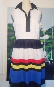 KENSIE TOP SAILOR DRESS